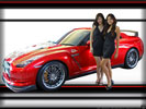 Nissan GT-R with Girls