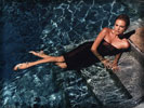 Charlize Theron in the Water, Feet