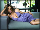 Jessica Biel on the Sofa