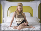 Amber Heard on the Bed