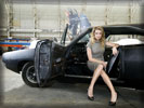 "Amber Heard in the movie ""Drive Angry"", Cars & Girls"