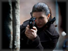 "Gina Carano in the movie ""Haywire"""