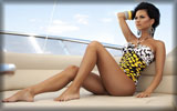 Inna on Yacht, Feet, Legs