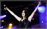 Sharon den Adel on the Stage