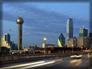 Dallas, Reunion Tower, Road