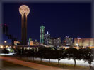Dallas Skyline, Reunion Tower