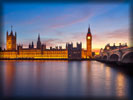 Palace of Westminster, Westminster Bridge, Big Ben, London