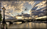 Waterloo Bridge, London, HDR
