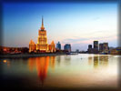 Hotel Radisson Royal, Moscow, Moskva River