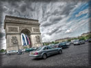 Arc de Triomphe, Paris, HDR