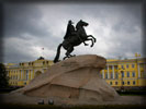 Saint-Petersburg, The Bronze Horseman, Monument to Peter the Great