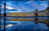 Palace Square, The Alexander Column, Saint-Petersburg