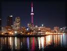 Toronto Skyline at Night, CN Tower