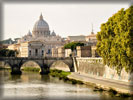 St. Peter's Basilica from the River Tiber, Vatican