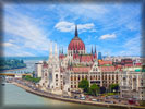 Hungarian Parliament Building, River Danube, Budapest