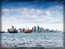 Doha Skyline, Boats
