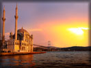 Ortaköy Mosque and the Bosphorus Bridge, Istanbul