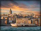 Galata Tower, Bosphorus, Sea of Marmara, Istanbul