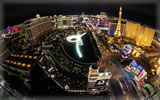 Night Panorama of Las Vegas, Nevada, USA