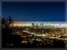 Los Angeles Panorama at Night