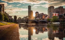 Princes Bridge across the Yarra River, Melbourne