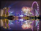 Singapore Skyline, Fireworks