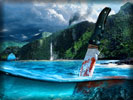 Far Cry 3, Knife, Sea
