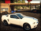 Need for Speed Rivals: Ford Mustang GT, White