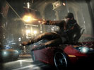 Watch Dogs: Aiden Pearce shooting with a Gun