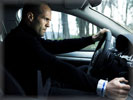 "Jason Statham in the movie ""Transporter 3"", Audi A8 6.0 W12"