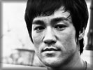 Bruce Lee, Face, Black & White