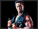 "Arnold Schwarzenegger in the movie ""Commando"""