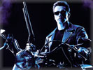 "Arnold Schwarzenegger in the movie ""Terminator 2: Judgment Day"""