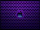 Apple Logo, Purple