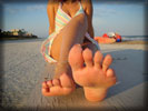 Beach Babe, Feet, Toes