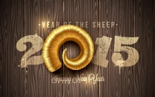 Happy New Year 2015, Year of the Sheep
