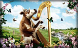 Cow with a Harp