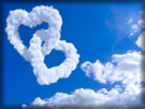 Valentine's Day, Heart Shaped Clouds, Sky