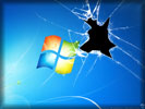 Windows 7, Broken Screen