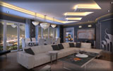 Interior Design: Living Room, Sofa