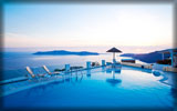 Swimming Pool, Santorini Princess Luxury Spa Hotel, Greece
