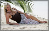 Abi Titmuss on the Beach, Feet