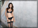 Adriana Lima in Black Lingerie
