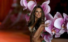 Alessandra Ambrosio at the Fashion Show