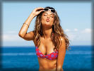 Alessandra Ambrosio wearing Sunglasses in Bikini, Air Kiss