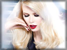 Claudia Schiffer, Face, Red Lips