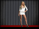 Heidi Klum in Miniskirt, Feet, Long Legs, High Heels