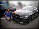 Dannie Riel with a BMW, Cars & Girls