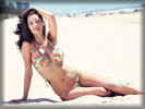 Jessica-Jane Clement in Bikini on the Beach