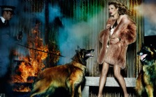 Kate Moss with Dogs